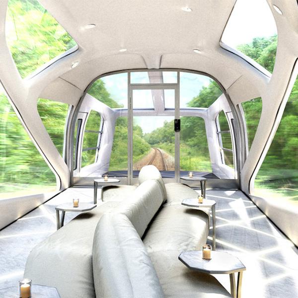 поезд,дизайн,концепт, Япония построит экспресс, похожий на пятизвездочный отель