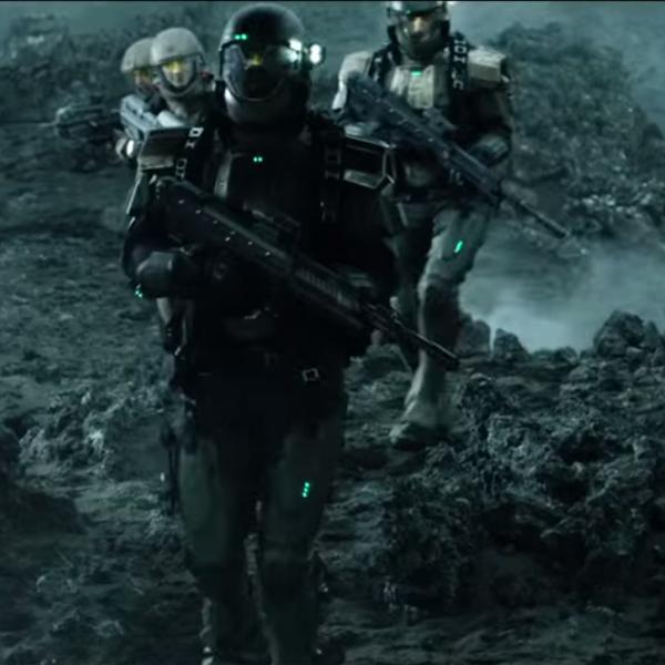 Halo,поп-культура, В интернете появился первый трейлер Halo: Nightfall