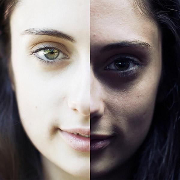 фотография, лицо, Как освещение меняет лицо человека