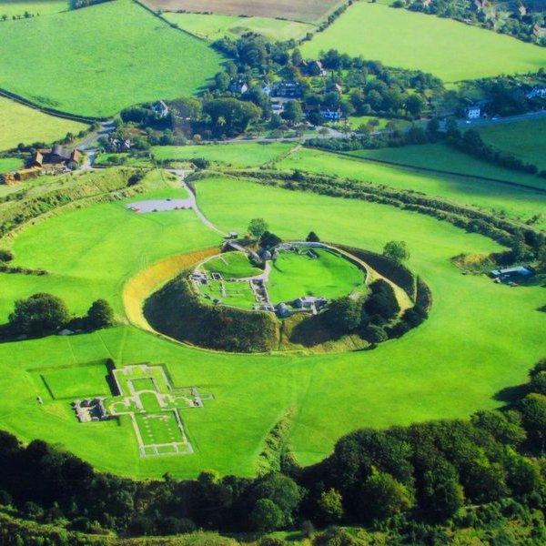 Археология, археологи, Великобритания, Англия, георадар, радар, картография, цифровая, цифровая картография, лидар, Археологи обнаружили таинственный замок на юге Англии