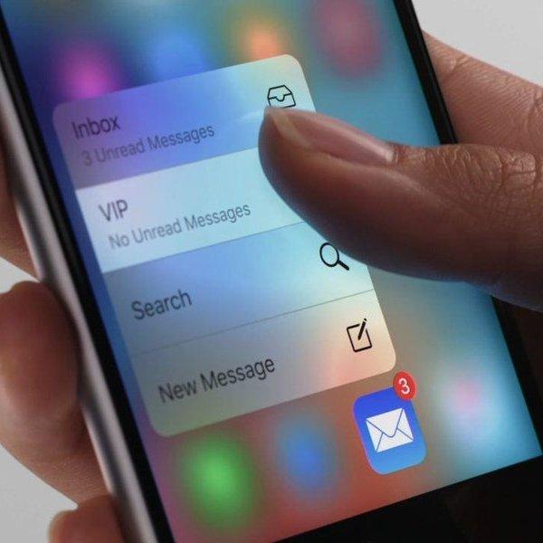 Apple,iPhone,iOS,смартфон, 3D Touch: возможности главной «фишки» в iPhone 6s
