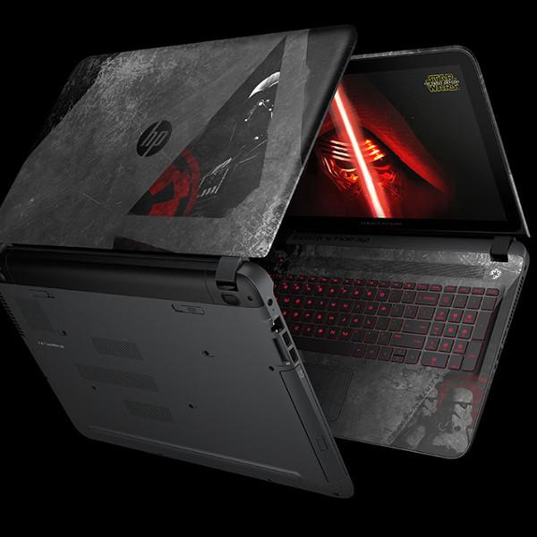 HP,StarWars,ноутбук,кинематограф,кино, HP выпустила ноутбукт в имперском стиле Star Wars