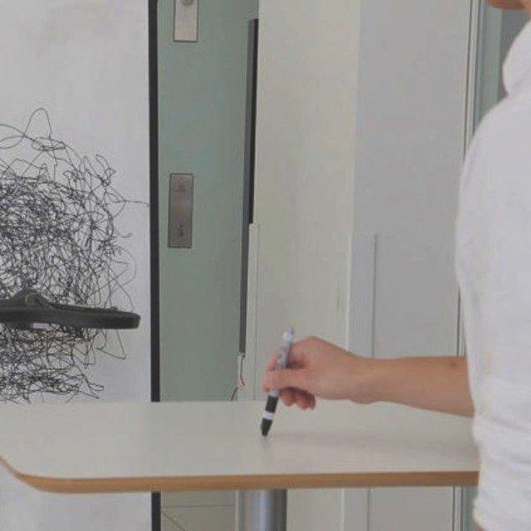 Идея,искусство,дизайн,концепт,робот,роботы,дрон, MIT Flying Pantograph: студенты разработали дрон-художник