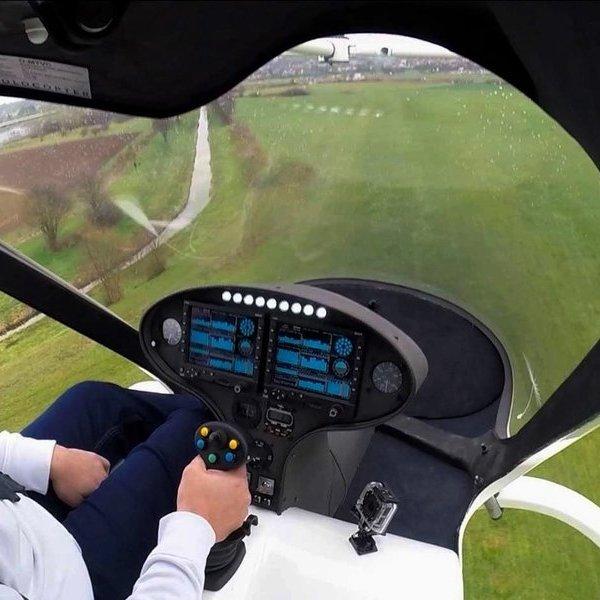 Идея, концепция, дизайн, авиация, самолёт, квадрокоптер, дрон, беспилотник, E-Volo Volocopter: в Германии прошли испытания «летающего автомобиля»