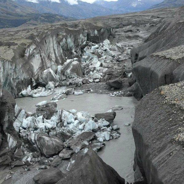 Исследование,климат,геология,океан, Учёные обнаружили исчезновение реки в Канаде