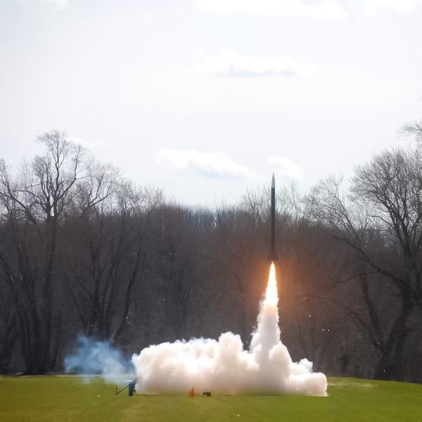 космос,авиация,самолёт, Ракетный двигатель из пластика, напечатанный на 3D-принтере