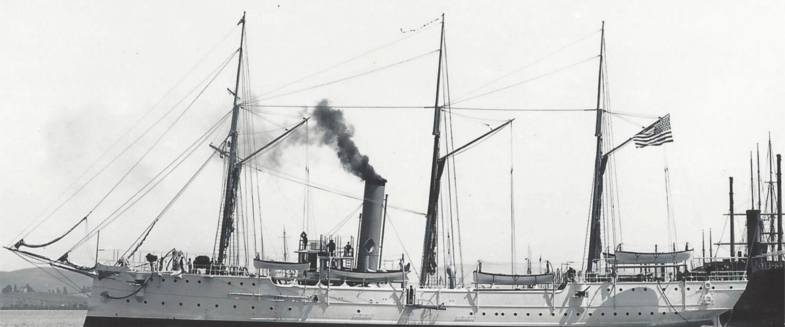 У берегов Калифорнии нашли пароход, затонувший 100 лет назад