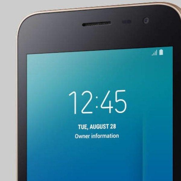 смартфон, Samsung показала свой первый смартфон на Android Go