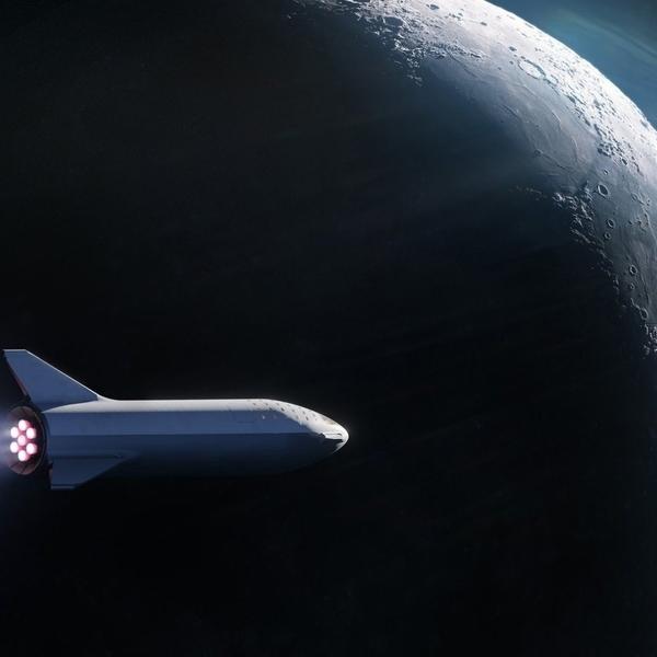 космос, SpaceX объявила о выборе первого туриста для полета на Луну